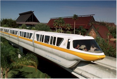 Magic Kingdom Resorts Can Take The Monorail Or Boats To Epcot And Buses Other Parks Guests At Contemporary Also