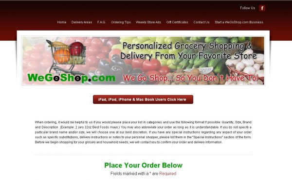 Delivery service that will shop at albertson s trader joe s publix