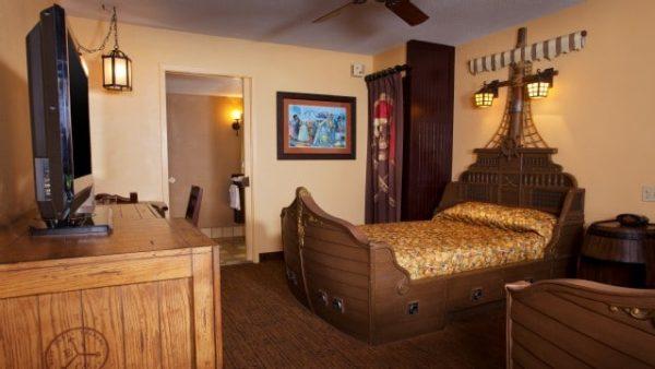 caribbean beach resort pirate room