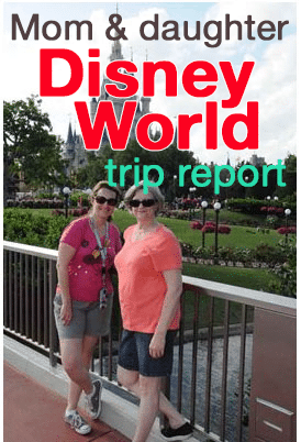 Mom and I do Disney World: April 26   April 30, 2013