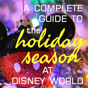All about the holidays at Disney World