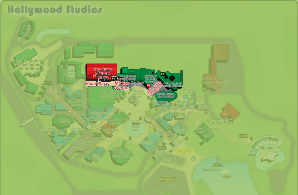 Guide to all Hollywood Studios attractions from @WDWPrepSchool