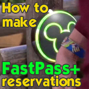 How to make FastPass+ reservations and order MagicBands from @WDWPrepSchool
