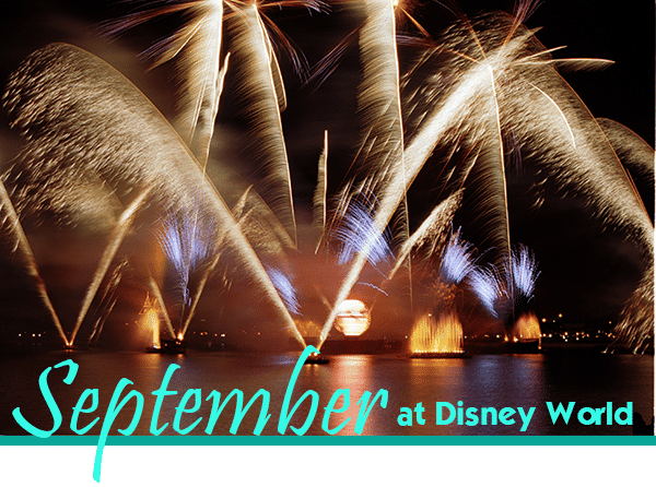 September at Disney World