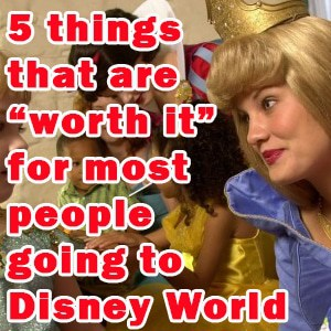 5 things that are worth it for most people going to Disney World
