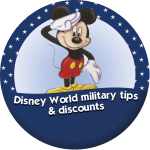 Disney World military tips and info
