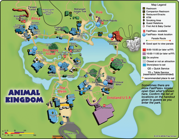 Animal Kingdom Park Map Picture Pictures to pin on Pinterest