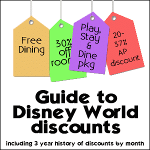 Guide to Disney World discounts from @WDWPrepSchool
