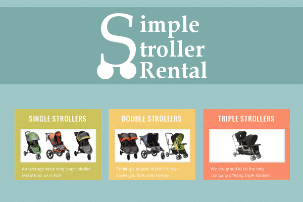 Comparing Disney World Stroller Options