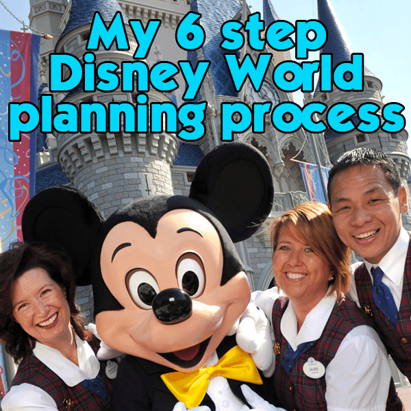 Details of my 6 step Disney World planning process   PREP055 from WDWPrepSchool.com