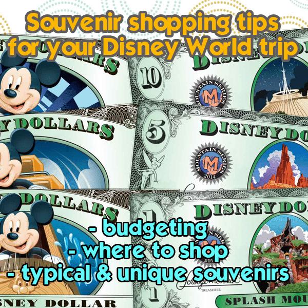 Souvenir shopping on Disney World trips   PREP056 from WDWPrepSchool.com
