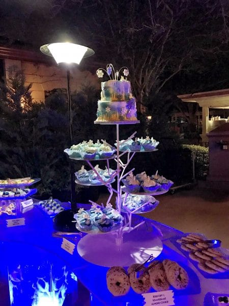 Frozen Ever After Dessert Party