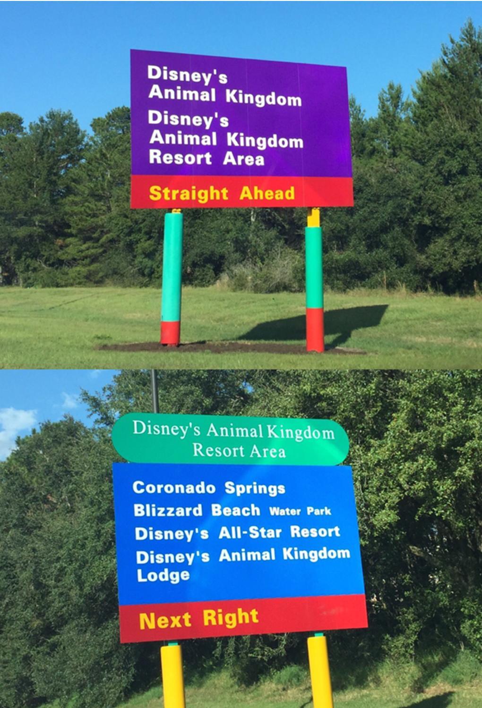 Resort signage2