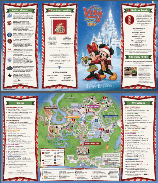 Guide to Mickey's Very Merry Christmas Party for 2017