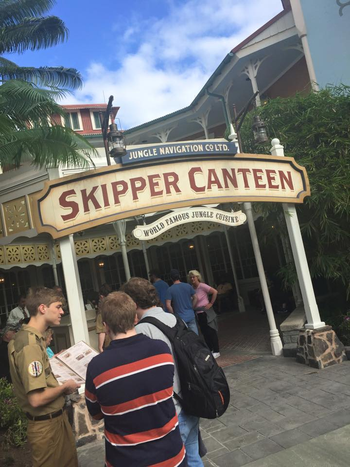 Pros and cons of all Magic Kingdom restaurants - Skipper Canteen (lunch)