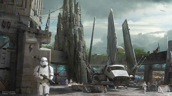 Star Wars land Millennium Falcon | WDWPrepSchool.com