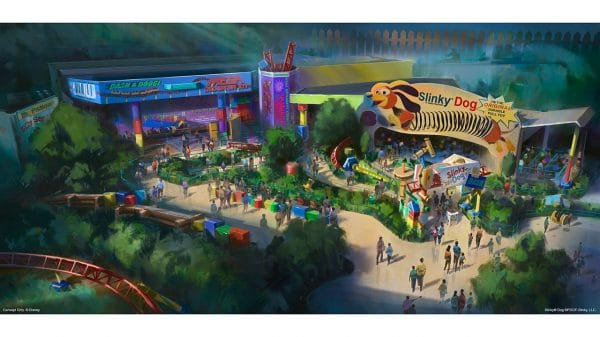 Toy Story Land opening Summer 2018
