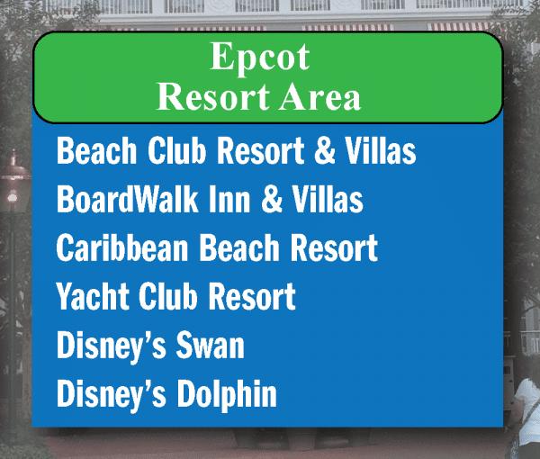 Epcot-area restaurants