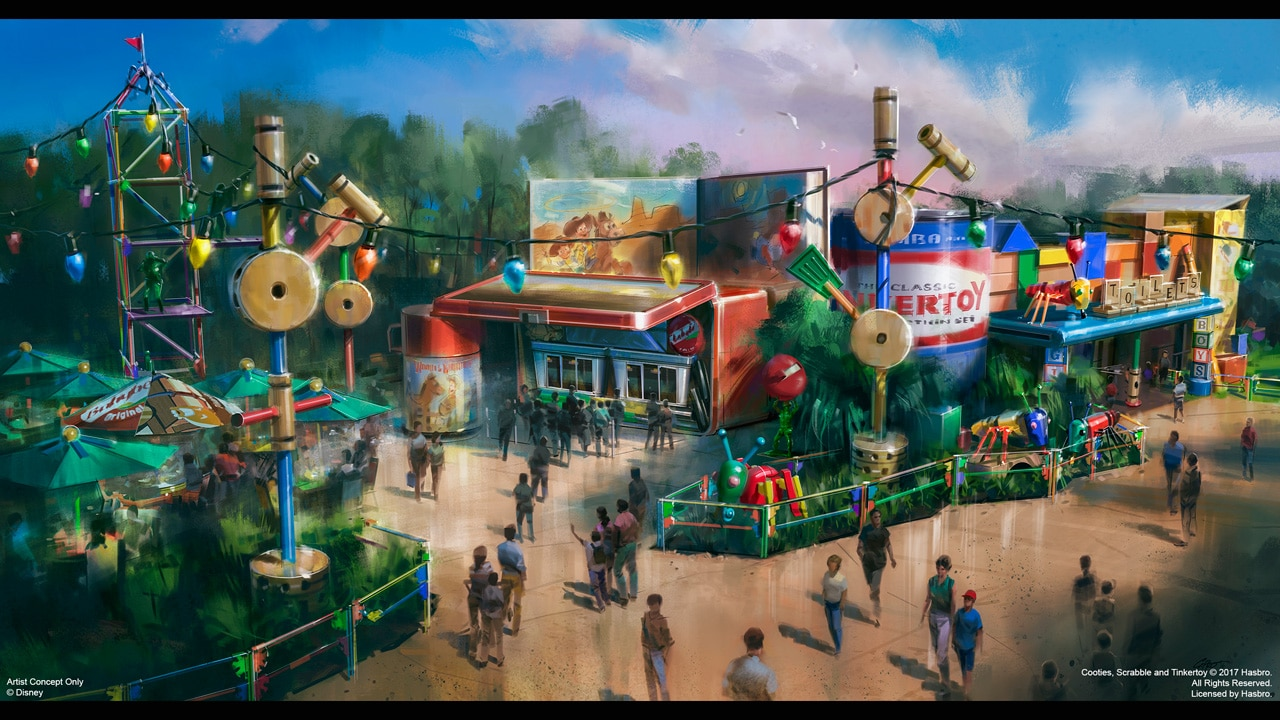 Pros and cons of every Hollywood Studios restaurant - Woody's Lunch Box (lunch) (opening summer 2018)