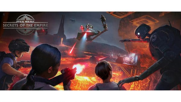 Star Wars Secrets of the Empire at Disney Springs