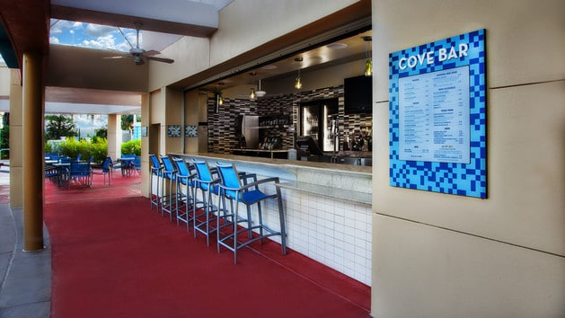 The pros and cons of all Magic Kingdom-area resort restaurants - Cove Bar