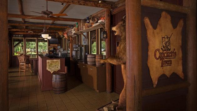 Cabins at Fort Wilderness - Crockett's Tavern