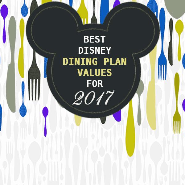 Best disney dining plan credit values for 2017 for Disney dining plan t rex