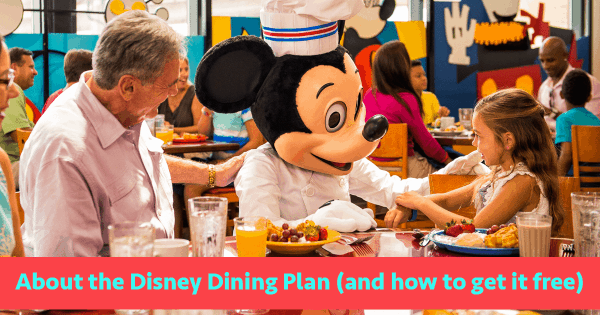 Complete Guide To The Disney Dining Plan And How To Get: how to get free dining at disney