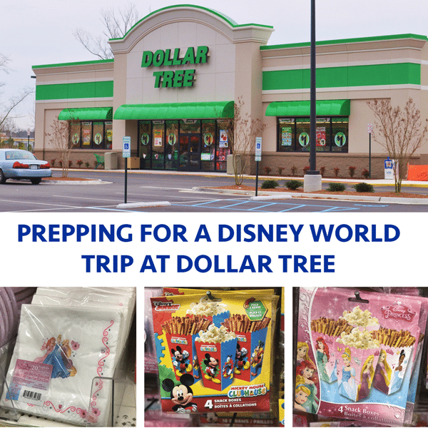 Dollar Tree Store Locator Inc: Prepping For A Disney World Trip At Dollar Tree