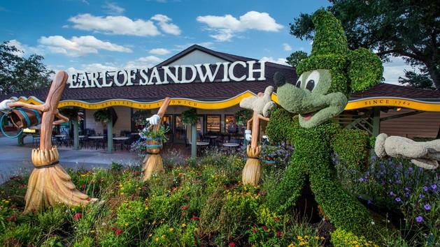 WDW Prep top Quick Service restaurants at Disney World - Earl of Sandwich (lunch)