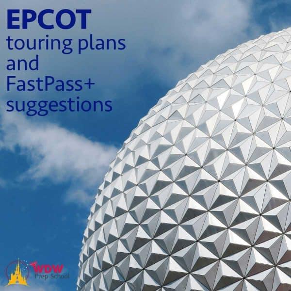 Epcot touring plans