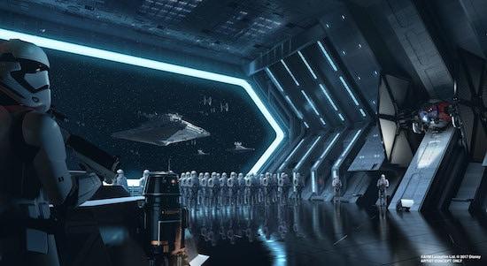 Star Wars land at Disney World