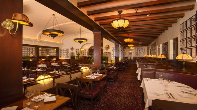 WDW Prep's top Table Service restaurants at Disney World - Hollywood Brown Derby (lunch)