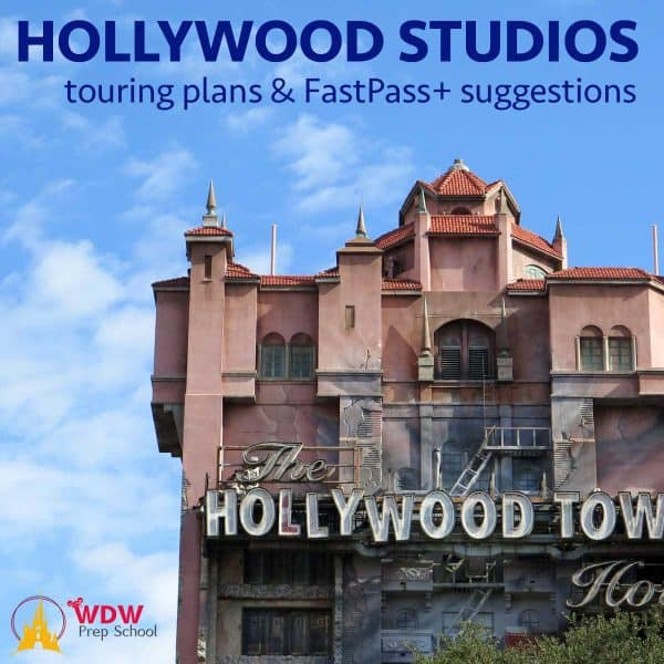 Hollywood Studios touring plans