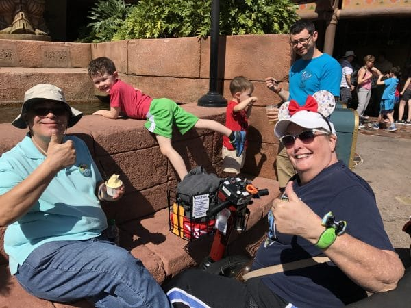 Tips and suggestions on using a scooter at Disney World