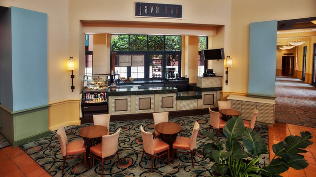 The pros and cons of all Epcot-area restaurants - Java Bar
