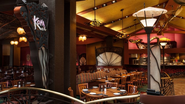 The pros and cons of all Magic Kingdom-area resort restaurants - Kona Cafe (breakfast)