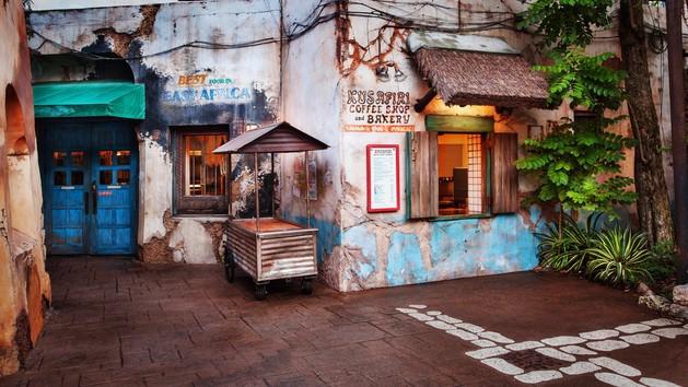 The pros and cons of all Animal Kingdom restaurants - Kusafiri Coffee Shop & Bakery (breakfast)