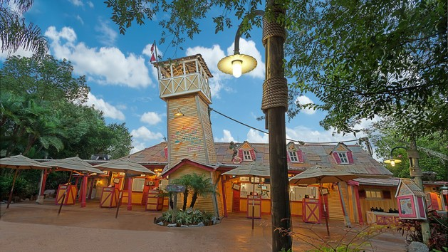 Complete guide to Typhoon Lagoon (including rides, dining, and tickets) - Leaning Palms (lunch)