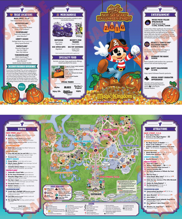 Mickey's Not So Scary Halloween Party 2016