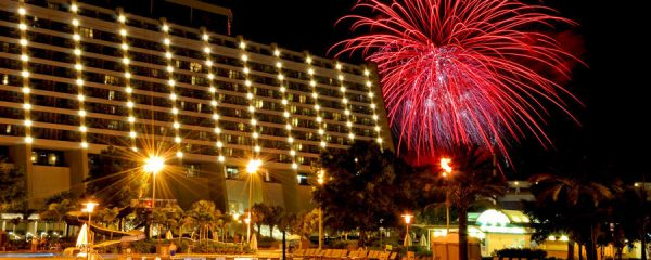 New Year's Eve at Disney World