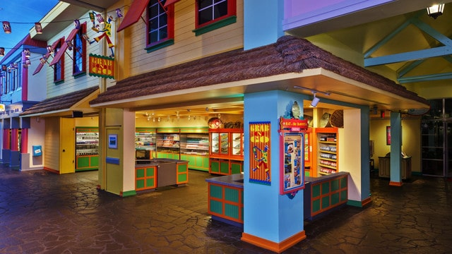 Caribbean Beach Resort - Old Port Royale Food Court (breakfast) – CLOSED during construction