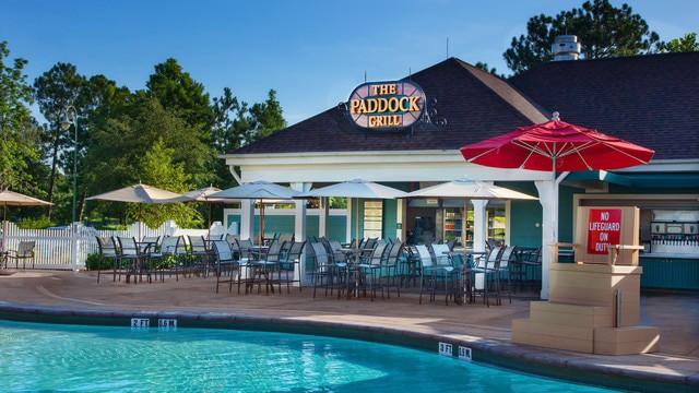 Saratoga Springs Resort - The Paddock Grill (breakfast)