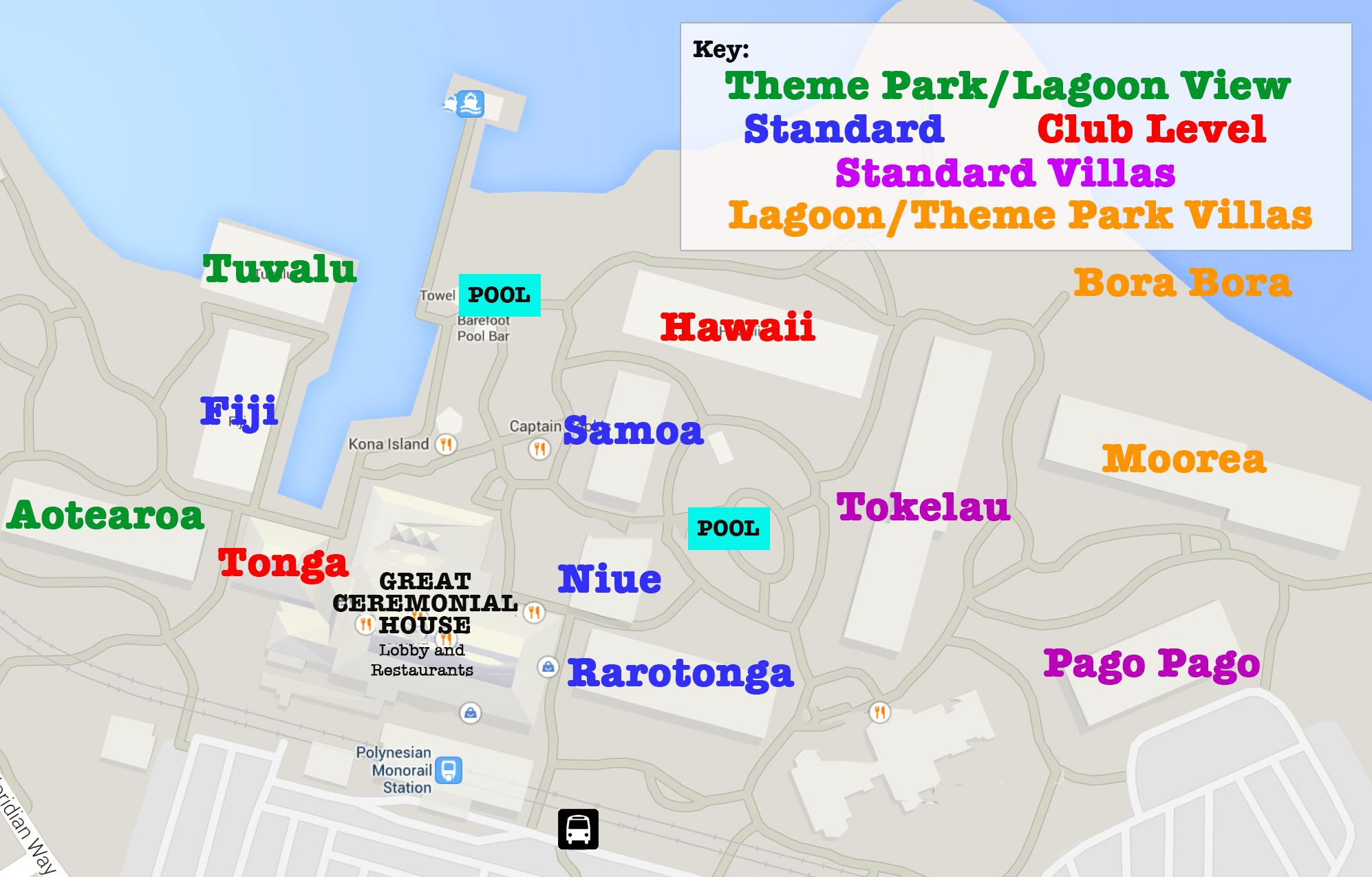 Polynesian Villas & Bungalows