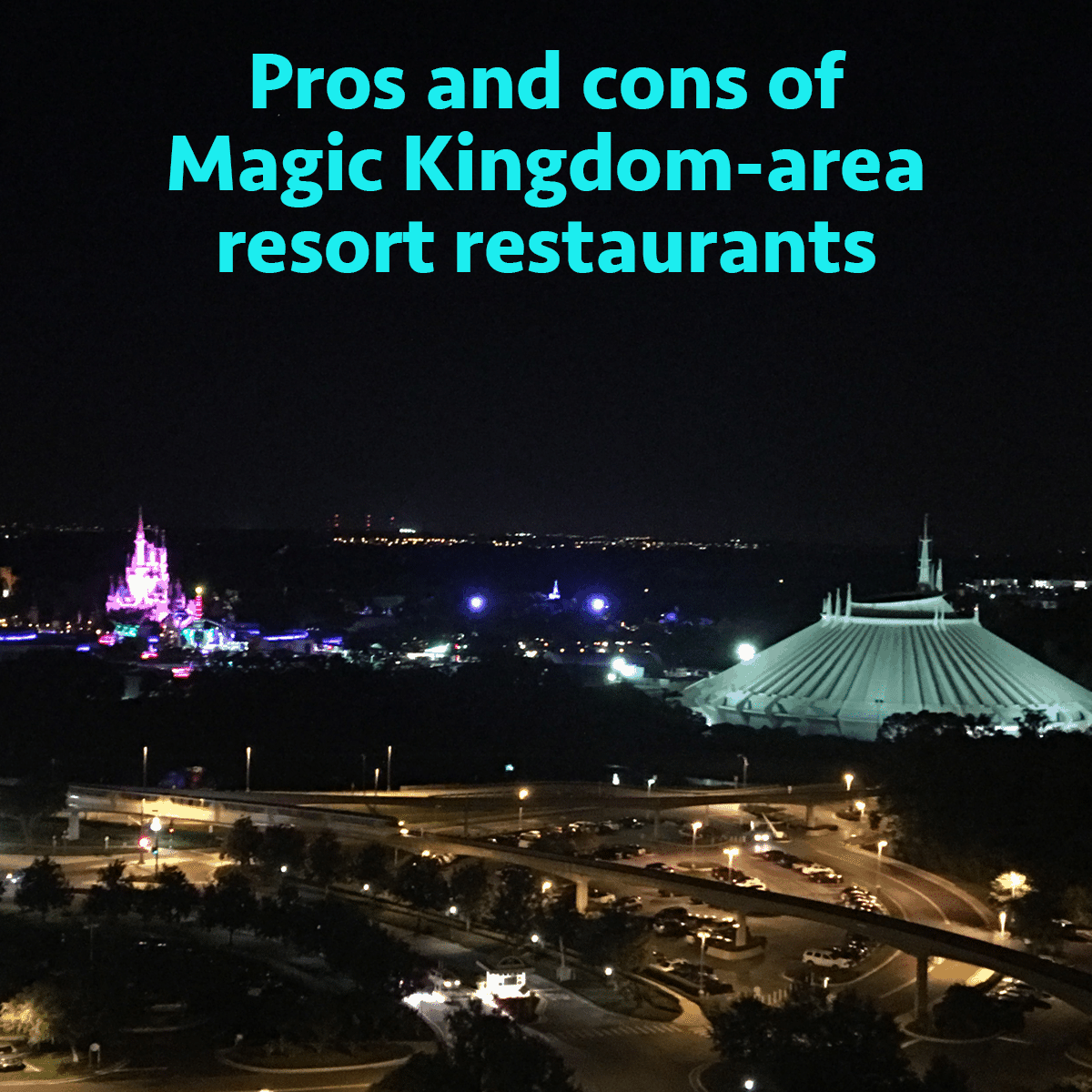 the pros and cons of all magic kingdom area resort restaurants