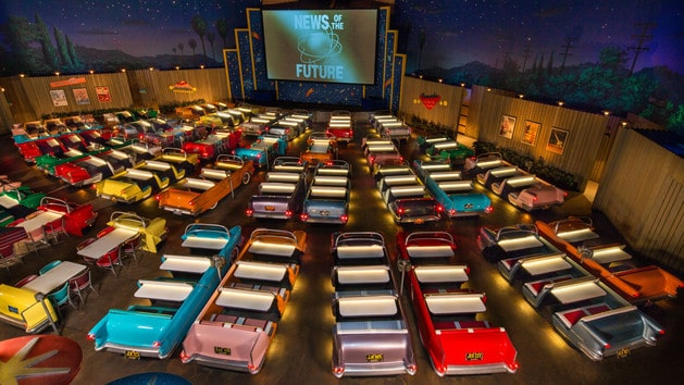 Pros and cons of every Hollywood Studios restaurant - Sci-Fi Dine-In Restaurant (lunch)