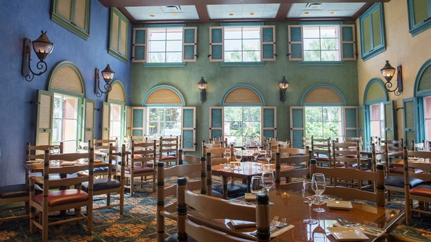 Caribbean Beach Resort - Shutters at Old Port Royale (dinner) – CLOSED during construction