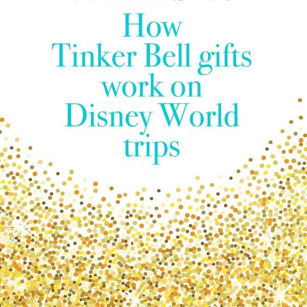 Tinker Bell gifts at Disney World