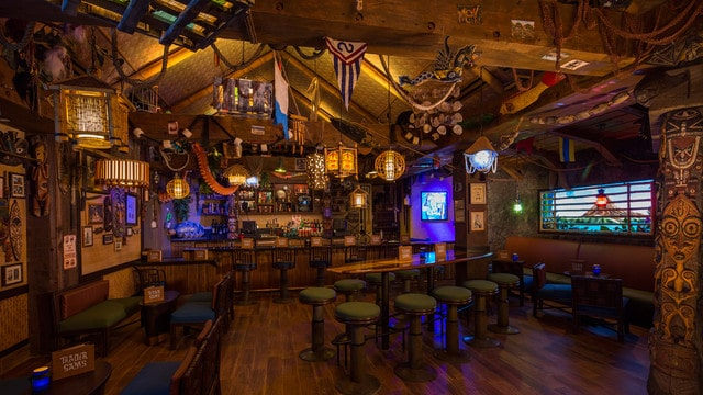 The pros and cons of all Magic Kingdom-area resort restaurants - Trader Sam's Grog Grotto
