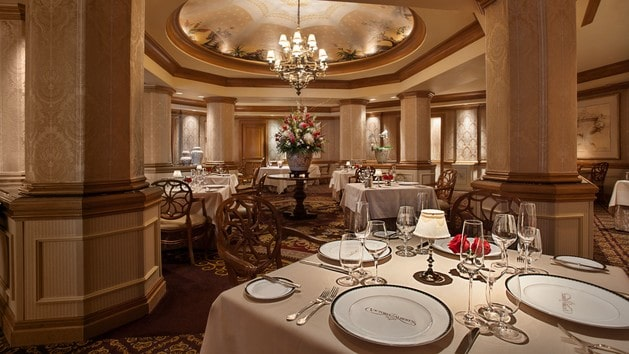 WDW Prep's top Table Service restaurants at Disney World - Victorias and Alberts (dinner)